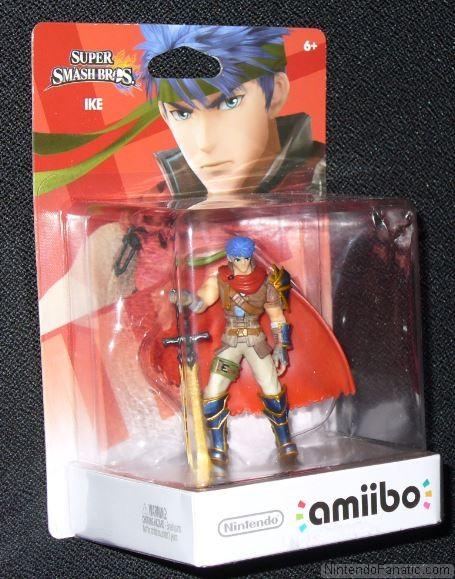 Super Smash Bros. Ike Amiibo - Front of Box View