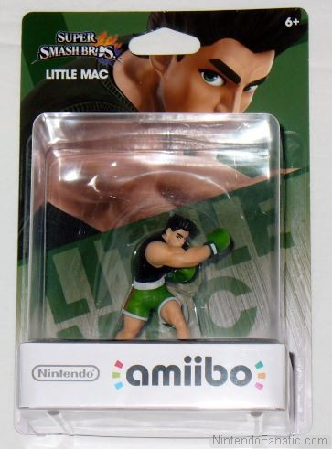 Super Smash Bros. Little Mac Amiibo - Front of Box View