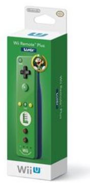 Luigi Wii Plus Remote with Wii Motion Plus