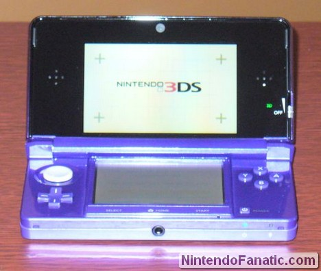 Midnight Purple 3DS Opened and Launched